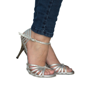 Ref249 all in silver colour. Vibranto Shoes hot style
