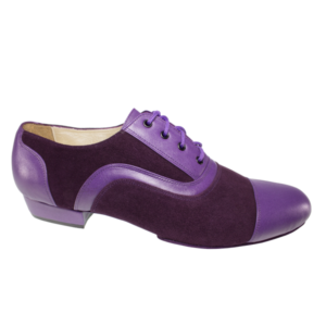 Ref 318 in purple suede and leather