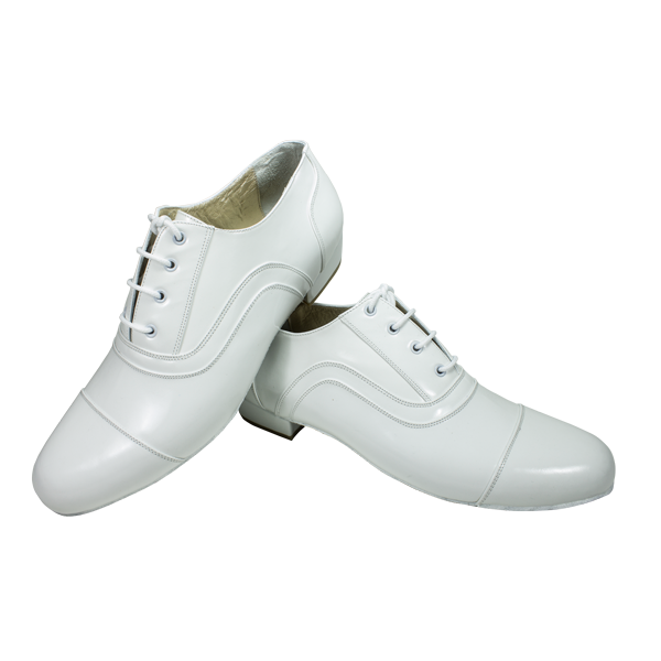 Vibranto male shoes Ref 318 in white leather
