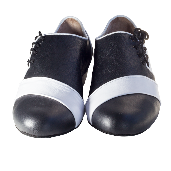 Ref 322 Men Shoes black and white