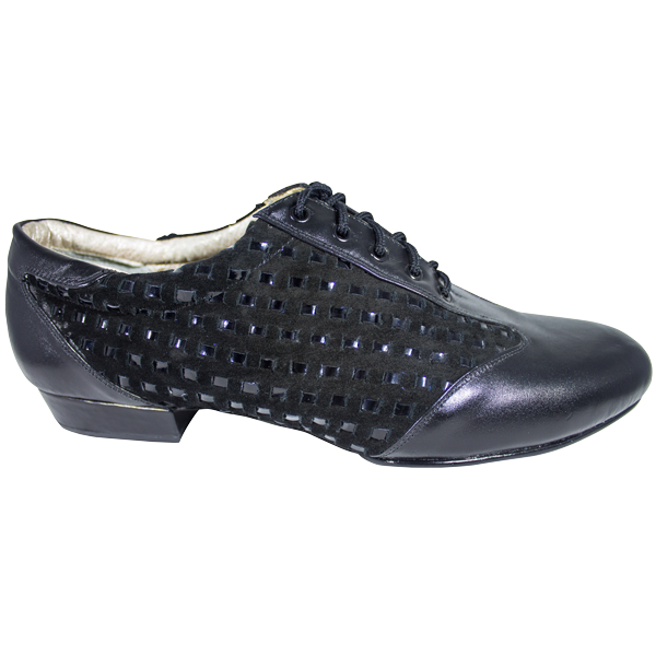 Ref 324 Vibranto Shoes in black thread
