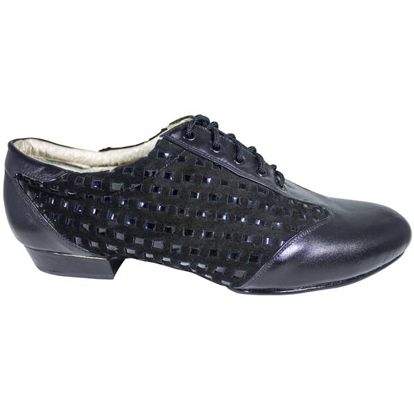 Ref 324 Vibranto Shoes in black thread