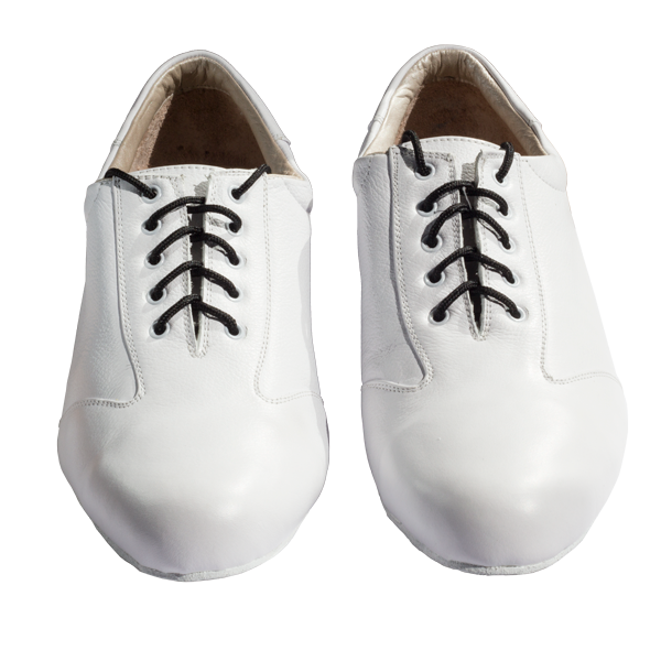 Ref 324 Men shoes all in white leather