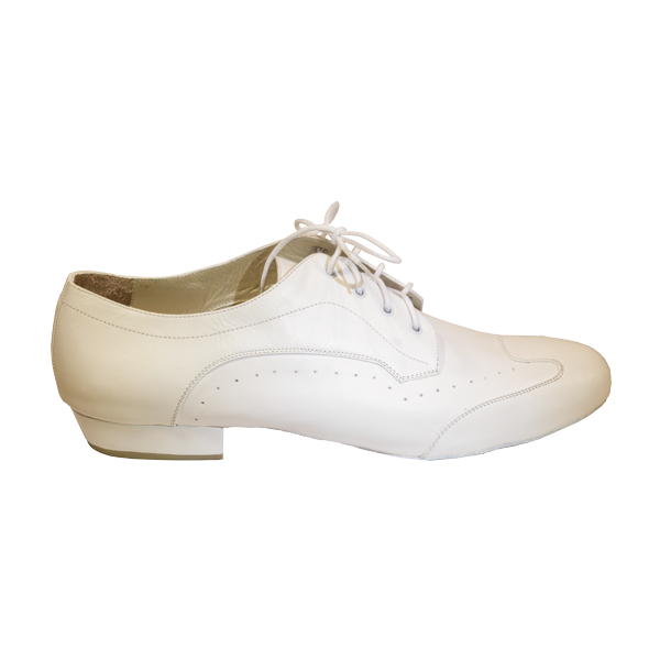 Ref 327 Vibranto Shoes in white leather