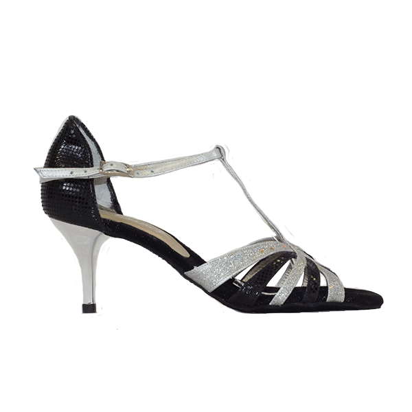 Ref T245C274 Vibranto Shoes in black and silver