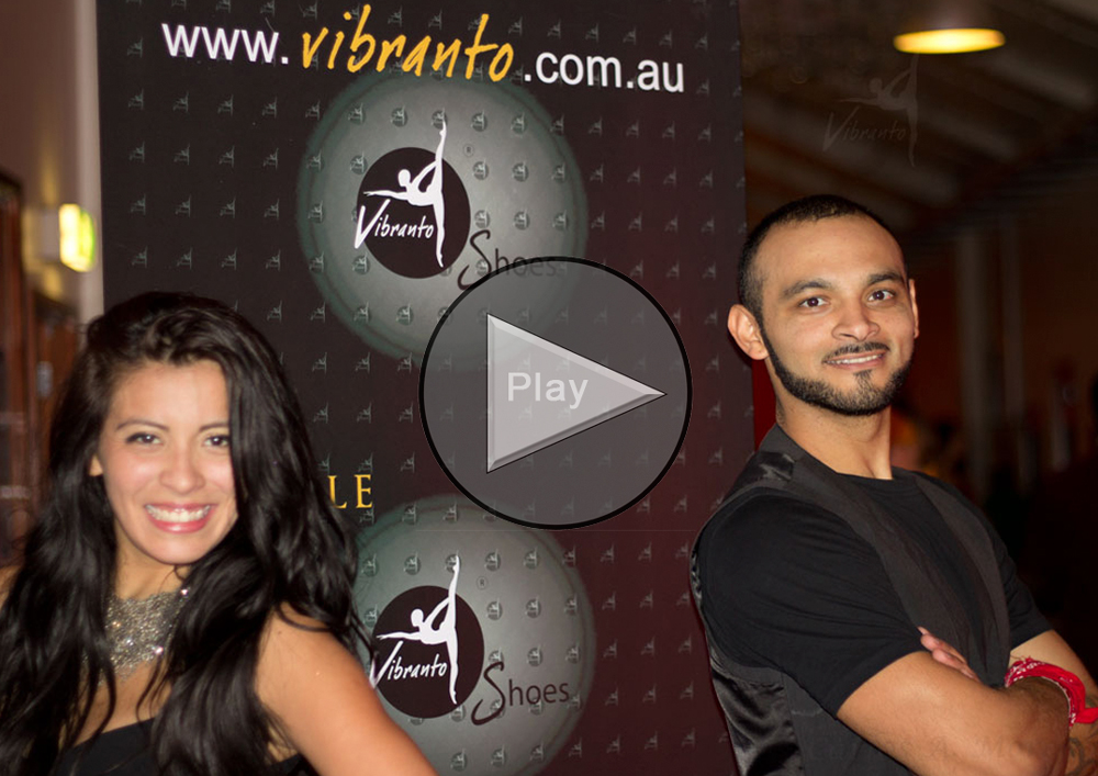 Romina & Jefferson (Latin Beats) in Melbourne with Vibranto