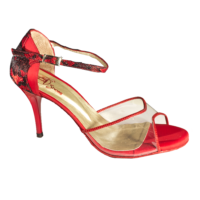T260 C251R with red lace Vibranto Shoes
