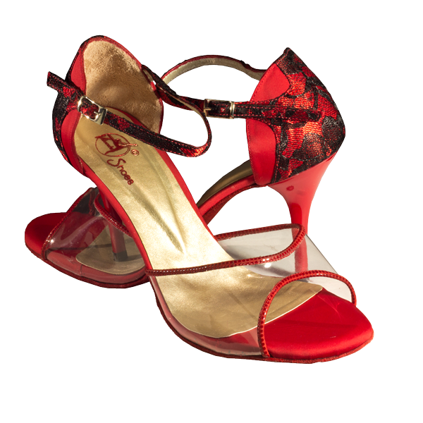 T260 C251R with red lace and red heels