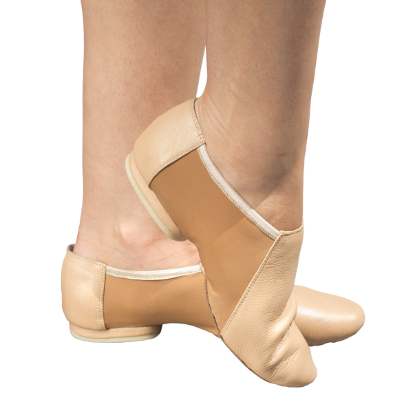 Jazz Shoes Ref 801 in naughty nude leather