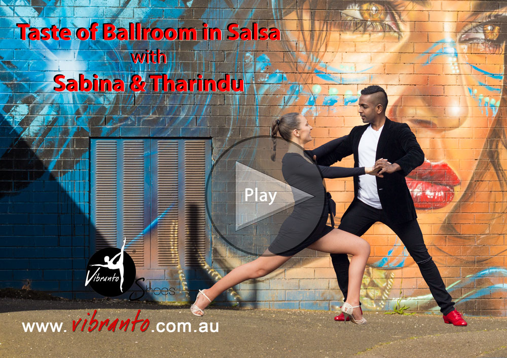 Ballroom in Salsa with Vibranto Shoes