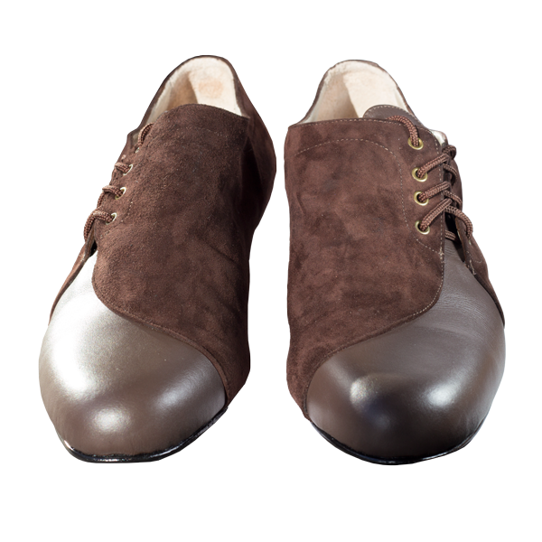 Ref 334 Men shoes in brown.