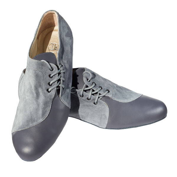 Ref 334 Men shoes in grey.