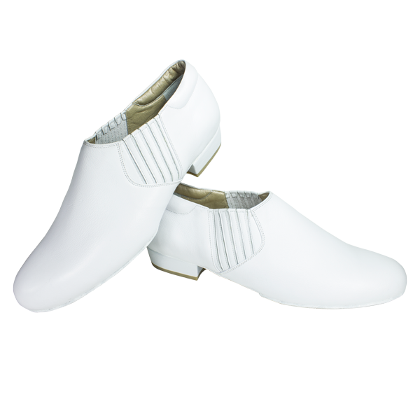 Ref 313 Men shoes all in white leather