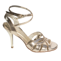Ref 1207 women shoes in gold uranus leather
