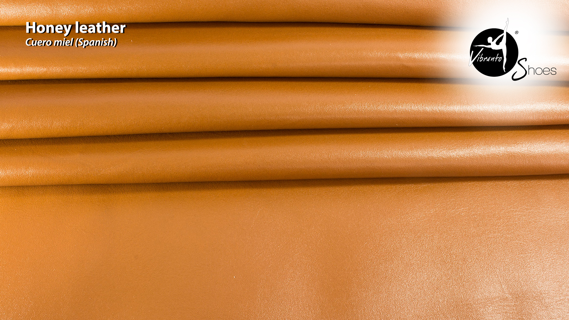 Honey leather light brown Vibranto Shoes Material