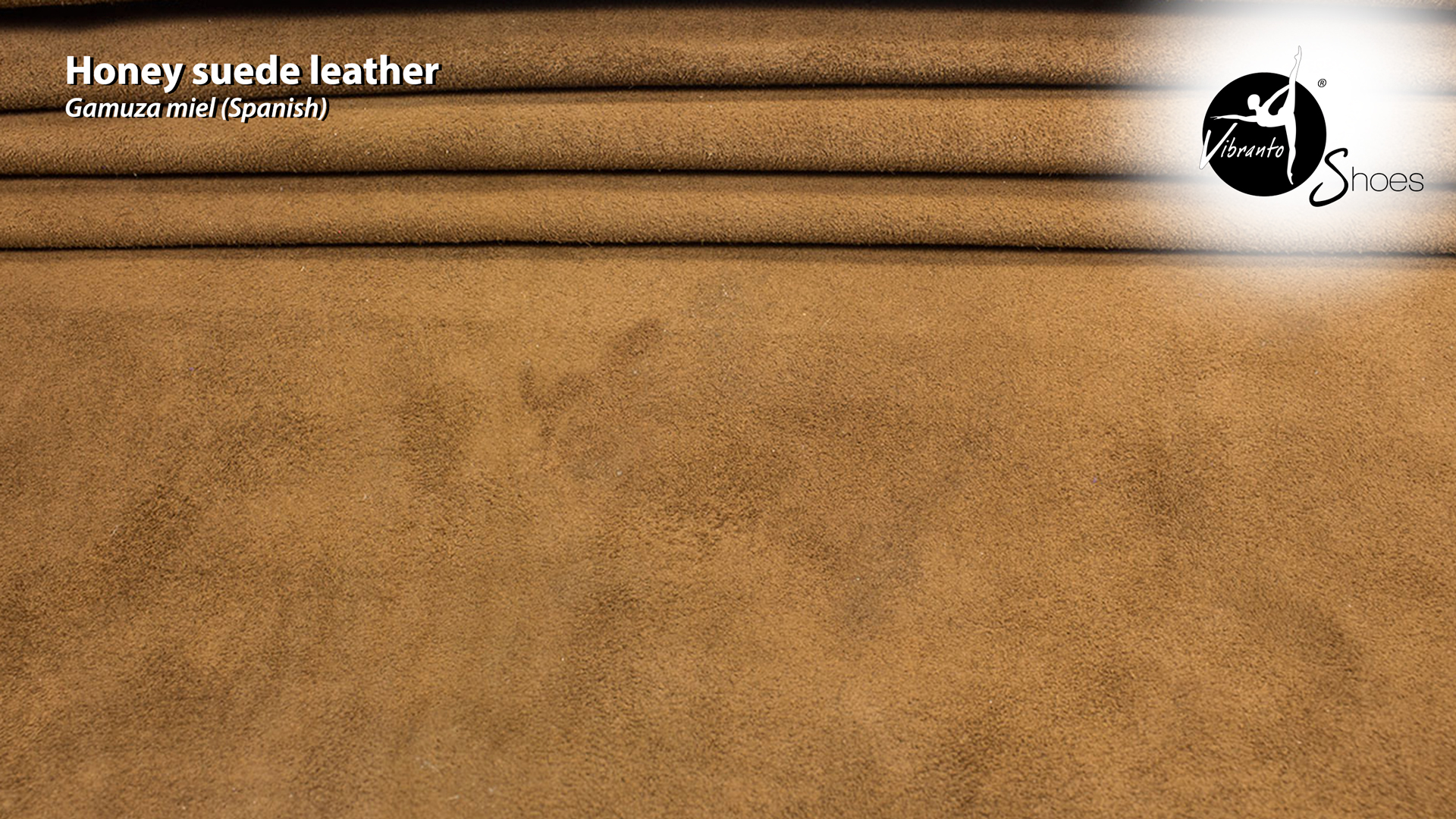 Honey suede leather material Vibranto Shoes